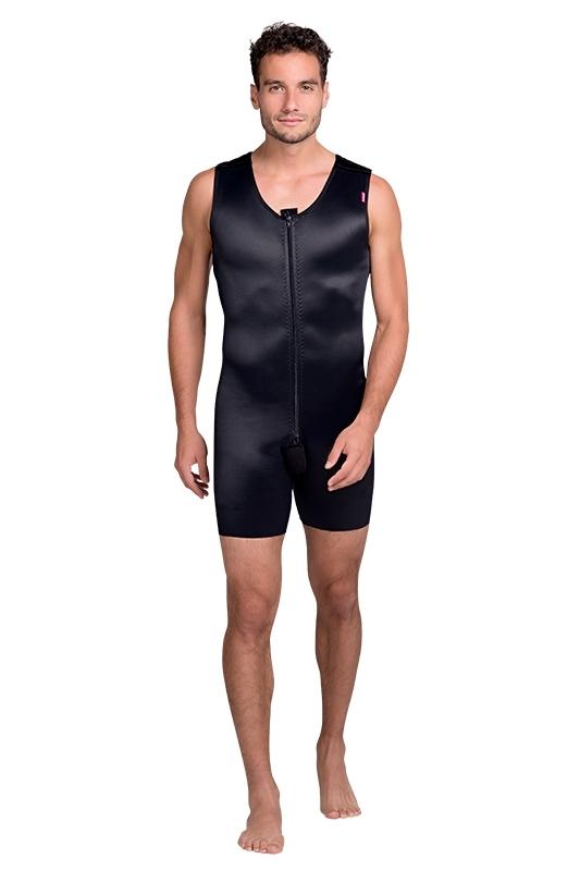 Men compression body suit MGmm Comfort - Lipoelastic.com