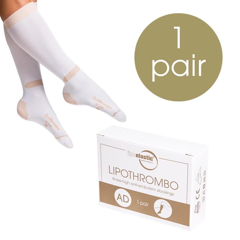 Anti-embolism compression stockings LIPOTHROMBO AD - Lipoelastic.com