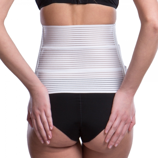 Unisex abdominal binder KP special - Lipoelastic.com