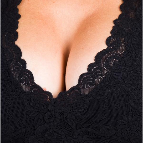 Sexy lace bra PI premium for post surgery recovery - Lipoelastic.com