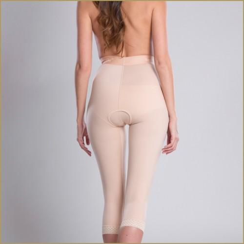 Compression below knee shorts TD - Lipoelastic.com