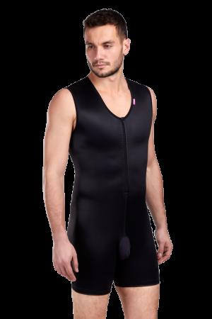 Men compression body suit MGm Comfort - Lipoelastic.com